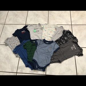 Baby Boy bundle of clothes size 6 - 9 months